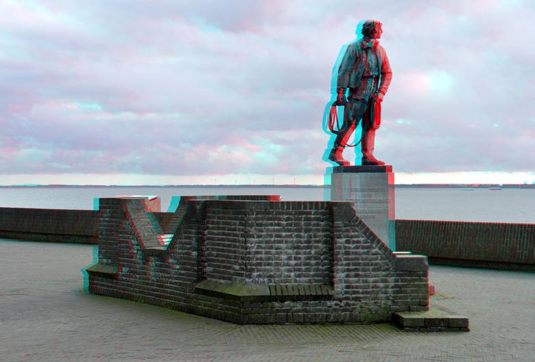 Statue Naerebout Vlissingen 3D - Statue Naerebout Vlissingen 3D