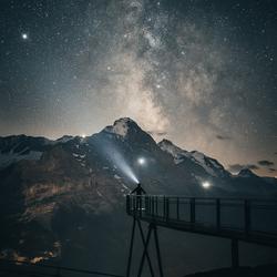 Cliff Walk by Night