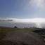 Zeevlam boven het IJsselmeer