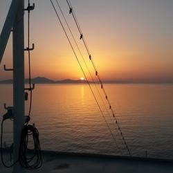 Zonsondergang-Santorini