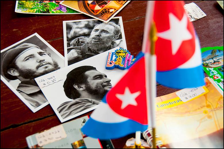 Cuba 133 - Het blijft mij verbazen dat zo iemand als Ché Guevara kan uitgroeien tot het beeldmerk van een land. Ok, hij heeft gevochten voor, laten we