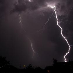 Lightning in Holland