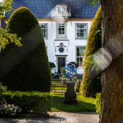 Door t hek-Haarlem-Vrouwe en Antonie Gasthuys