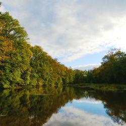 Herfst reflectie