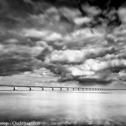 Clouds above the bridge