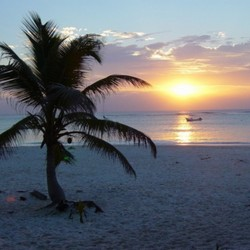 Tulum sunrise