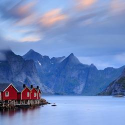 Hamnoy, Lofoten, Noorwegen
