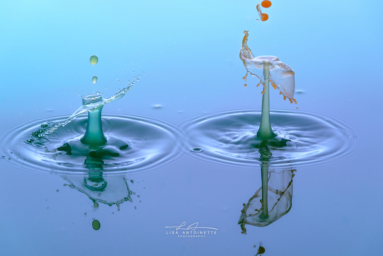 Water druppel fotografie.