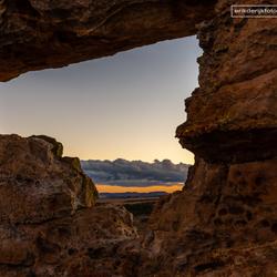 The window of Isalo, Madagaskar