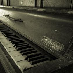 The piano...
