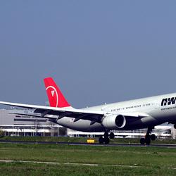 Landing Airbus A330