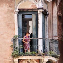 Balkon ; etje. 2