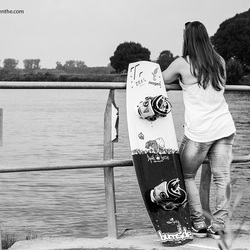 Wakeboard girl