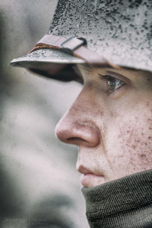 War in his eyes