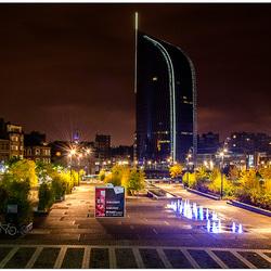 Luik bij avond