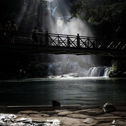 Kuong Si watervallen