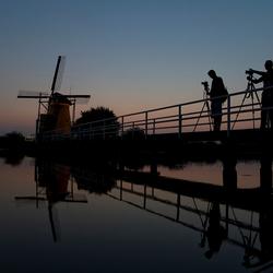 Kinderdijk verlicht 2013