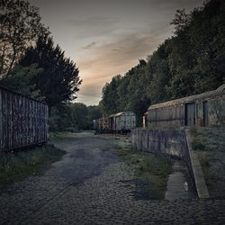 het oude treinstation Hombourg