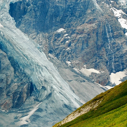 Gletscher wereld