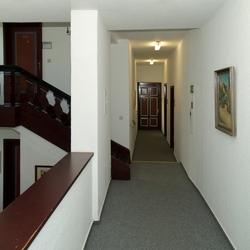 Het trappenhuis van het stadhuis van Cochem, foto 3.