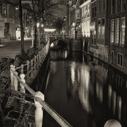 Delft - by night
