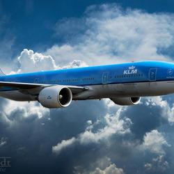 KLM PH-BQO B777