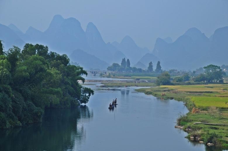 Een reislustig 2012 - Yangshuo e.o., één van de mooiste gebieden ter wereld? Zo zal elke reiziger een gebied op aarde kennen, waar hij/zij graag naar