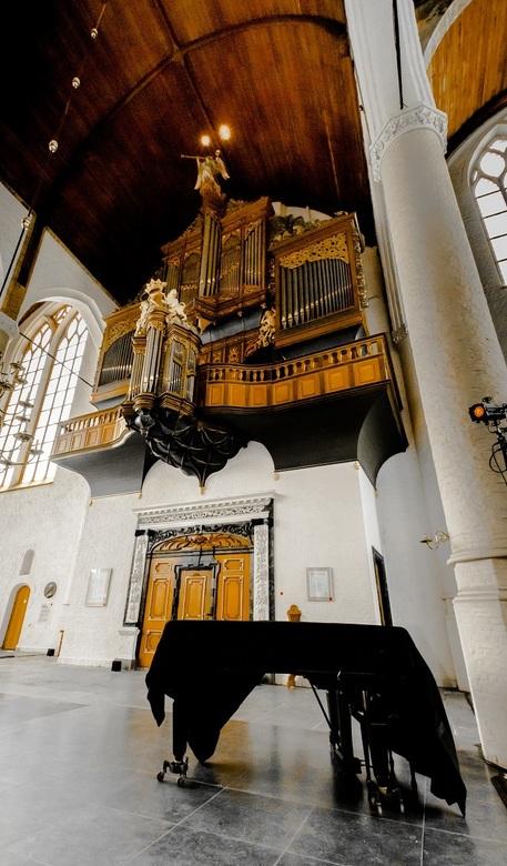 Vleugel vs orgel - St. Janskerk, Schiedam