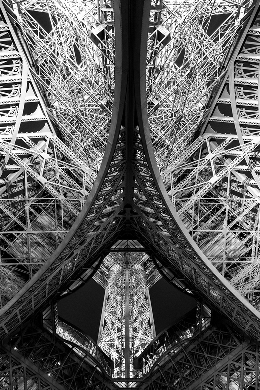 Monochrome Eiffeltoren -