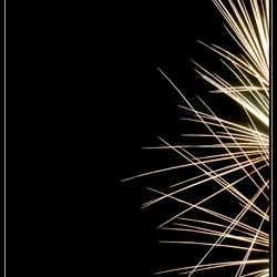 Spetterend vuurwerk