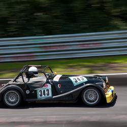 24h-classic Nürburgring Morgan Plus 8
