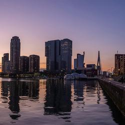 Maashaven zonsondergang
