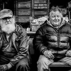 De mannen van de fietsies