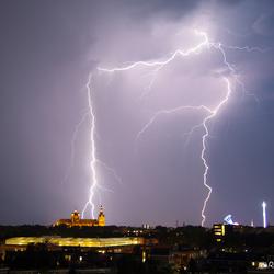 Onweer boven Den Bosch, Sint-Jan en Kermis
