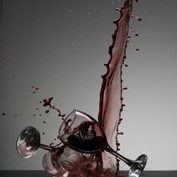 Rode wijn!