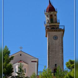 Kefalonia kerk Kourouklata