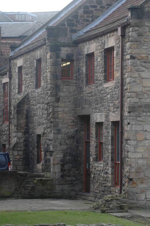 oud klooster in New Castle  - Het oude klooster trof ik aan tijdens mijn trip, de stijl van de stenen vind ik zelf erg mooi