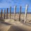 Doorkijkje op het strand