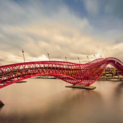 Pythonbrug, Amsterdam