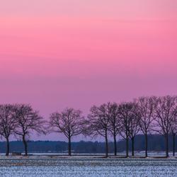 winterzonsopkomst