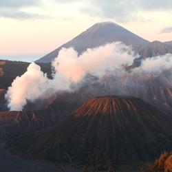 Bromo vulkaan in 2017