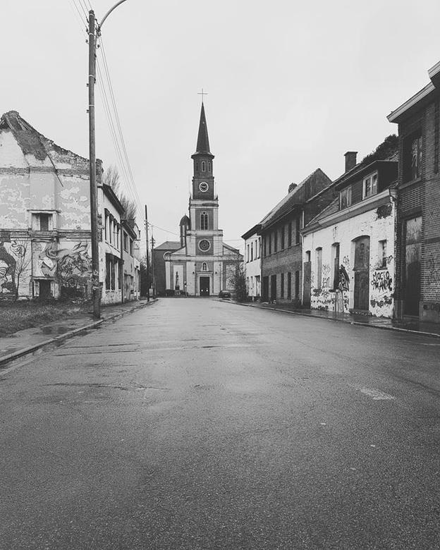 Spookstad.  - Verlaten stad in België.