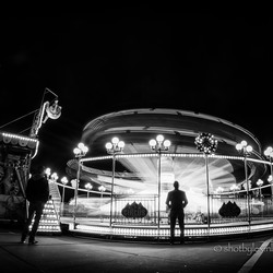 A fairground attraction