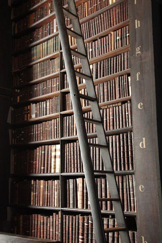 Oude bibliotheek van Trinity College