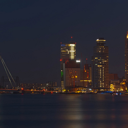 panorama Rotterdam in hdr