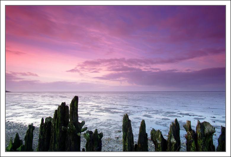 moddergat - Prachtig om te zien hoe de kleuren veranderen in het laatste uurtje voor de zonsondergang.