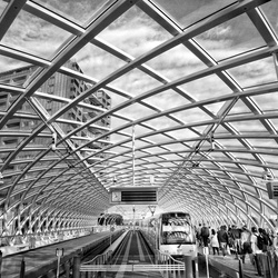 Den Haag Centraal Zwart/wit