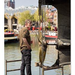 Rotterdam 6. Scheepshelling de Koningspoort.