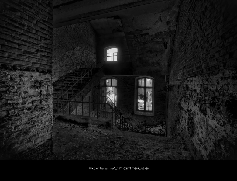 """LaChartreuse 15 - Welbekend verlaten Fort """"ergens"""" in Belgie,.."""