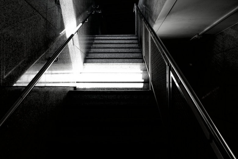 stairs - don't be afraid to walk alone